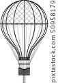 Hot Air Ballon 50958179