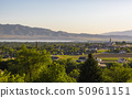 Utah Valley Views with Temple and Lake 50961151