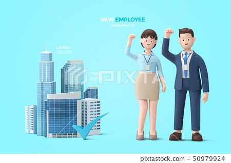 3D Profession and job character 002 50979924