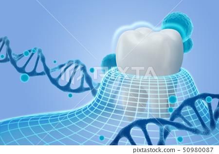 3D teeth 008 50980087