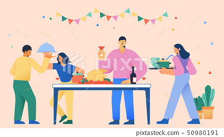 Daily life and spending, consumption activities concept vector illustration 007 50980191