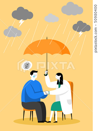 Medical check-up, health care concept vector illustration 006 50980400