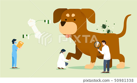 Concept of Physical and Life Research vector illustration 019 50981338