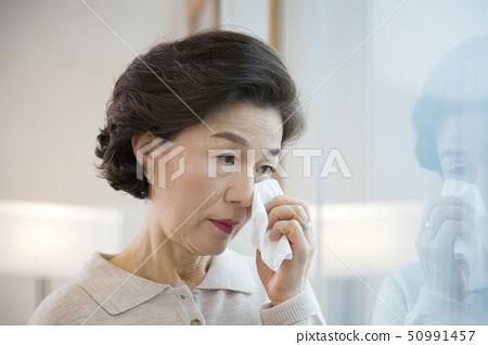 Portrait of senior couple 015 50991457