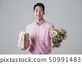 花束 禮物 禮品盒 50991483