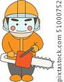 男性角色林业 51000752