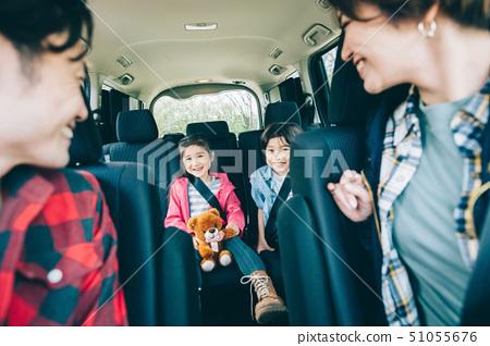 Family car drive 51055676