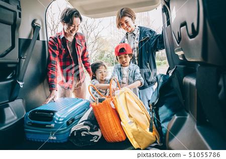 가족 차 캠프 51055786