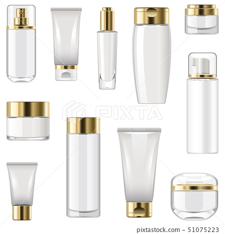 Vector Unlabeled Cosmetic Packaging 51075223
