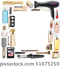 Vector Beauty Accessories Frame 51075250
