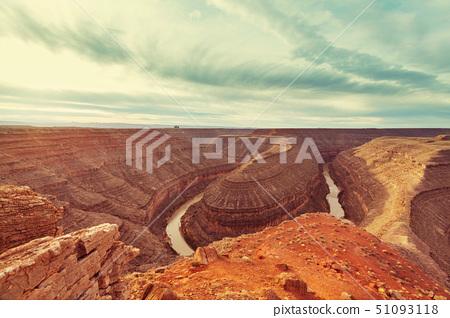Goosenecks State Park in Utah,USA 51093118