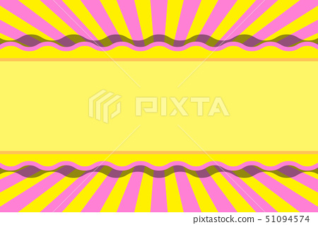 Background wallpaper, radiation, concentration line, copy space, happy, shop advertising billboard, fun party material, free, free 51094574