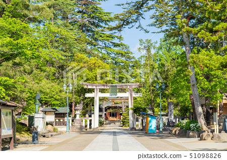 초여름의 우에스기 신사 야마가타 요 네자와 51098826