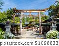 Uesugi Shrine Yamagata Yonezawa in early summer 51098833
