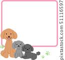 Three toy poodles Speech Bubble 51116597
