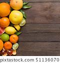 Fresh citrus fruits 51136070