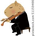 2020年新年賀卡材料_中提琴_水豚_沒有備註 51150466