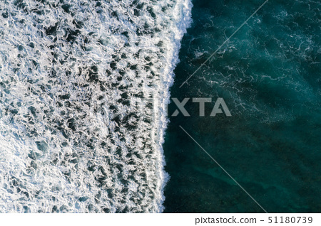 Aerial view of beautiful seascape 51180739