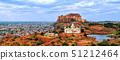 Panorama of blue city Jodhpur, India 51212464