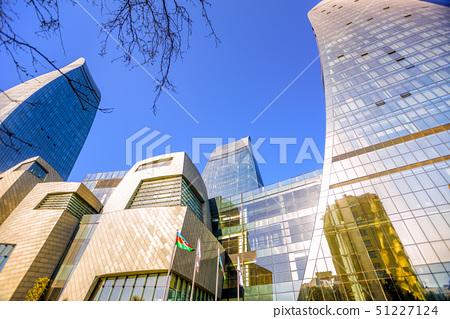 The Flame Towers skyscrapers, Baku, Azerbaijan 51227124