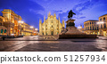 Milan Cathedral on piazza Duomo, Italy 51257934