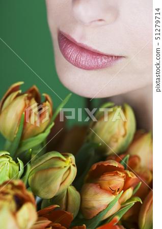입술,얼굴,부분 51279714