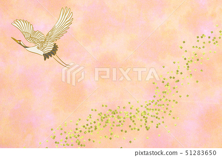 Crane in flight 51283650