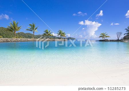 coral lagoon in parau royal resort, koror state, parau 51285273