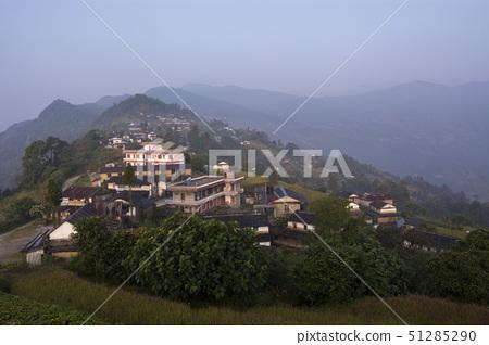 dhampus village, pokhara, nepal 51285290