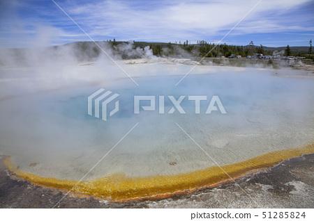 midway geyser basin, yellowstone national park, u.s.a 51285824