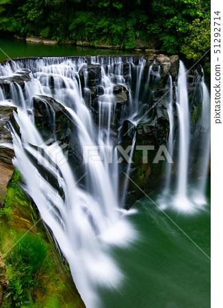 臺灣新北市平溪十分瀑布New Taipei City Waterfall, Asia, Taiwan 51292714