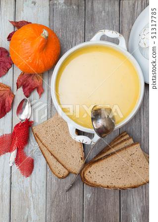 pumpkin soup set 51317785