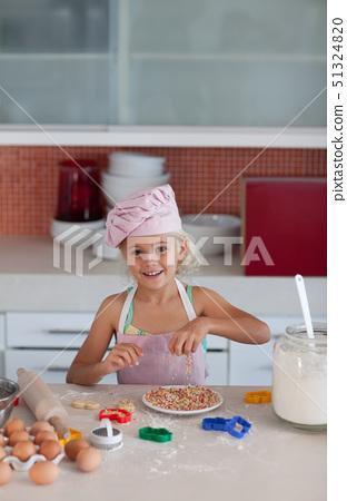 달걀,그릇,앞치마 51324820