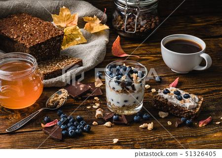 Healthy Breakfast with Ingredients 51326405
