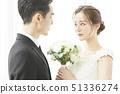 커플 결혼 51336274