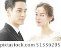 커플 결혼 51336295
