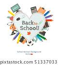 Back to school illustration 51337033