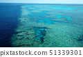 Aerial view Great Barrier Reef 51339301