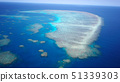 Great Barrier Reef aerial view 51339303