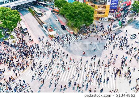 【도쿄】 스크램블 교차점 51344962
