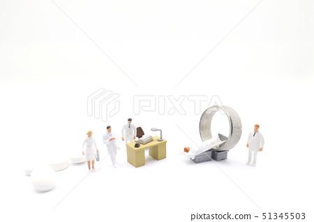 themini figure with CT or MRI diagnosis in Clinic 51345503