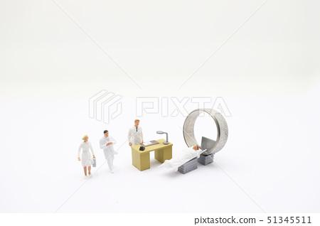 themini figure with CT or MRI diagnosis in Clinic 51345511