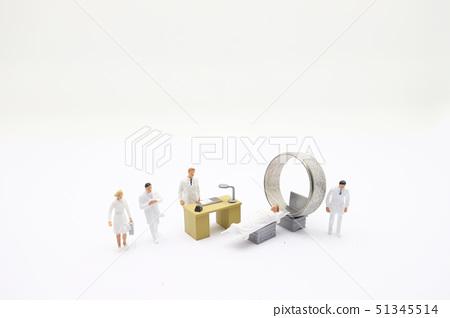 themini figure with CT or MRI diagnosis in Clinic 51345514