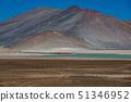Unreal red stones and Talar salar in Atacama 51346952