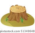 Tree Stump, Damaged Tree, Destruction of Forest 51349648