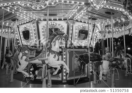 Carousel black and white 51350758