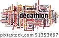 Decathlon word cloud 51353697