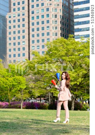 대한민국 여성의 표정, 라이프 스타일, 공원에서의 휴식 51368923