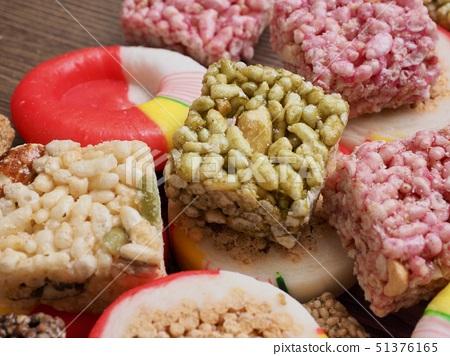 한국의 음식 모듬한과, 한국 사탕, 강정 51376165
