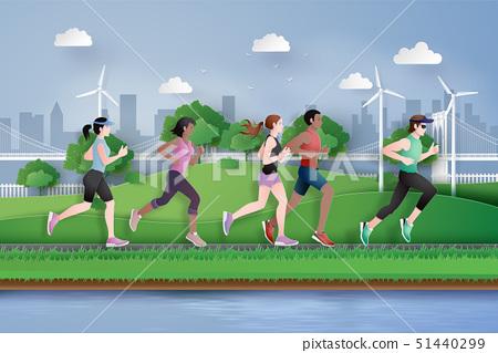 running marathon 51440299